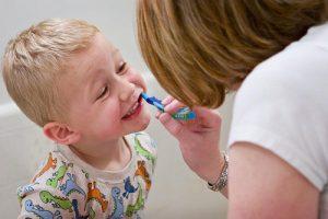 kids dental checkup