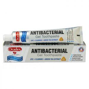 oraldex antibacterial gel toothpaste 120g vitamartmy